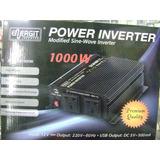 Conversor Inversor 12vdc - 220v 1000w Energit En-car1000/12v
