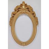 Moldura Resina Pintada Provençal Estilo Vintage Com Espelho