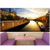 Papel Parede Adesivo Paisagens França Painel Foto Cidades 28