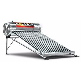Calentador Solar De Acero Inoxidable De 15 Tubos Solaris