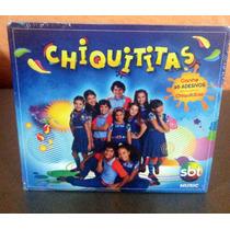 Cd Novela Chiquititas 1 - Novo, Lacrado, Com Adesivos