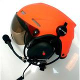 Capacete Flytec Com Fonia - Paramotor / Trike/ Ultraleve