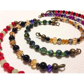 Collares,pulseras,aros,colgantes Cristal Ag/alejandro Guiggi