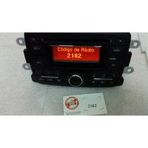Radio Cd Original Renault Sandero E Duster Com Cartão Code
