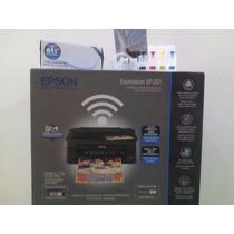 Impresora Epson Xp 201 + Sistema Continuo Para Sublimacion