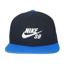 Boné Nike Sb Icon Pro - Azul Marinho/azul