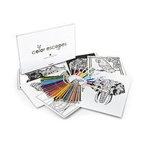 Juguete Crayola Color Escapes Adultos Libros Para Colorear