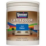 Pintura Latex Color Preparado 4 L Venier Interior Exterior