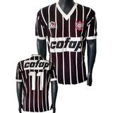Camisa Retrô Corinthians 1983 Cofap Blusa Camiseta Timão
