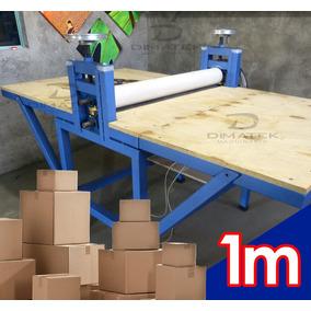 Suajadora Electrica Para Fabricacion De Caja De Carton