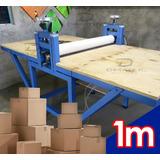 Suajadora 1m Electrica Para Fabricacion De Caja De Carton