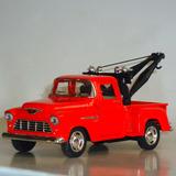 Camioneta Grúa Chevy Stepside 1955 De 12 Cms. Nueva S/caja.