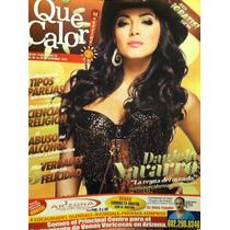 Daniela Navarro Revista Que Calor Magazine