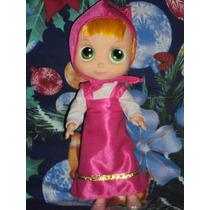 Muñeca Masha De Masha Y Oso Princesas Disney Frozen Peppa