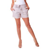 Shorts Miss Chilli Alfaiataria Linho