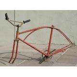 Bicicletas Antigas - Quadro Caloi Arco Duplo Anos 60