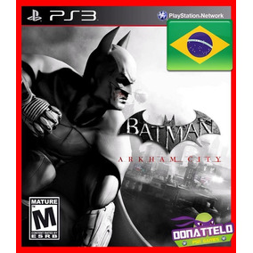 Batman Arkham City Portugues Br Ps3 Psn Play 3 Envio Rapido!