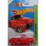 Hot Wheels Chevy 1952 Camioneta 2015 Roja