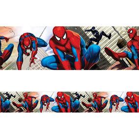 Faixa Decorativa - Homem Aranha 2