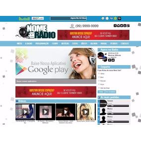 Site Web Rádio Php Completo
