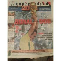 Periodico De Coleccion Universal Deportivo Corea Japon 2002