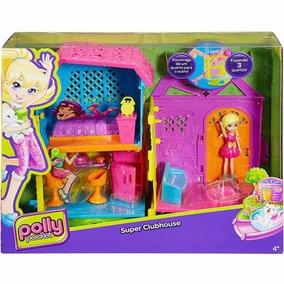 Polly Pocket Casa Club De Polly Mattel