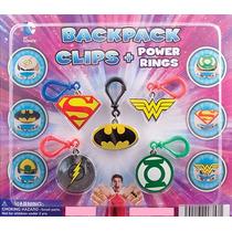 Batman Vs Superman Voddo Clip Anillo Capsula Vending Maquina
