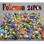 Pokemon Pacote Com 24 Peças Pokemon Aleatórios Pikachu