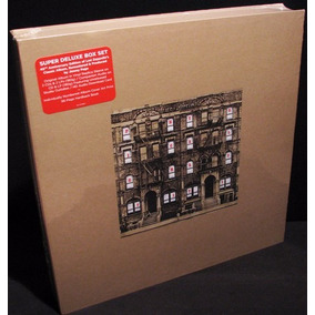 Led Zeppelin Box Physical Graffiti Lacrado Lp, Cd Raro
