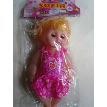 Muñeca Sofia Bebe Querido Canta Niñas Juguete
