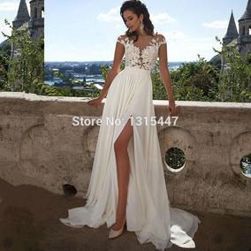Vestido De Novia Importado. Increible Modelo Exclusivo