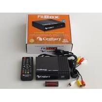 Conversor Fit Box Para Tv Digita, Gravador,filtro 4g Century