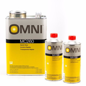 Ppg Kit Transparente Automotriz Rapido Omni 4lts Mc260