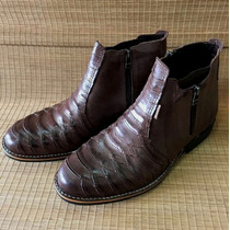 Botina Masculina Escamada Palma Boots