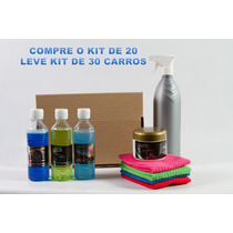 Lava Seco Automotivo Kit 20 Carros Lava Seco