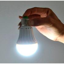 Lâmpada Inteligente Led De Emergência 6w Bulbo Branco Frio
