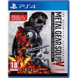 Juego Metal Gear Definitive Ps4 Fisico Sellado