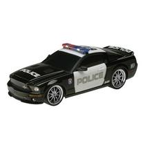 Carrinho De Controle Remoto Xq Ford Gt500 Police Car - 1:18