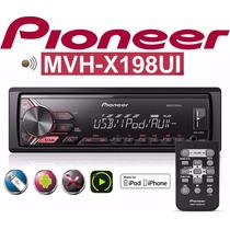 Radio Auto Pioneer Mvh-x198ui Controle Mp3 Usb Spotfy Frete