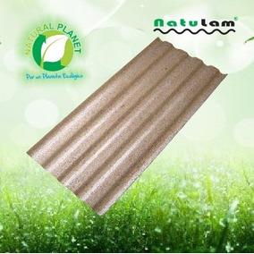 Lamina Acanalada Teja Para Techo De Polialuminio Ecológico