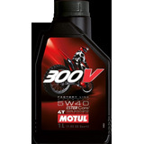 Aceite Motul 300v 5w40 100% Sintetico Competicion Fas Motos