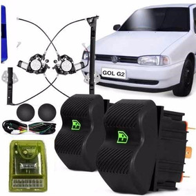Kit Vidro Eletrico Gol Bola / G2 Ate 98 C/ Modulo Inteligent