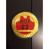 Moneda Conmemorativa Michael Jordan Chicago Bulls Nba