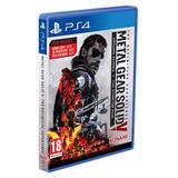 En Español Edicion Goty Metal Gear Solid 5 Edi. Definitiva