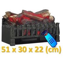 Inserto Para Chimenea Electrica C/calefactor 51cm C/conrtol