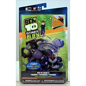Juguete Ben 10 Ultimate Alien Cómica Exclusivo 4 Pulgadas F