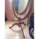 Hermoso Espejo Antiguo De Pie 149cm Alto