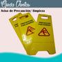 Aviso De Precaución O Seguridad De Piso Mojado