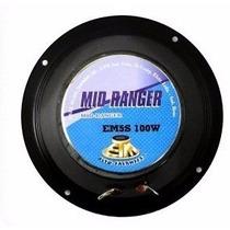 Par Alto Falante Mid Ranger Etm 5s 100w 8ohms Medio Voz