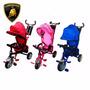 Triciclo Bebe Lamborghini Smart Reclina 1 A 6 Baby Shopping